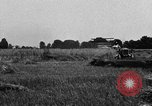 Image of Ford tractor drawn reaper United States USA, 1918, second 11 stock footage video 65675048692