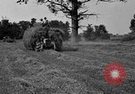 Image of Ford tractor drawn hay wagon United States USA, 1918, second 2 stock footage video 65675048695