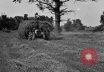 Image of Ford tractor drawn hay wagon United States USA, 1918, second 4 stock footage video 65675048695