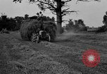 Image of Ford tractor drawn hay wagon United States USA, 1918, second 8 stock footage video 65675048695