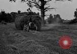 Image of Ford tractor drawn hay wagon United States USA, 1918, second 9 stock footage video 65675048695