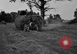 Image of Ford tractor drawn hay wagon United States USA, 1918, second 10 stock footage video 65675048695