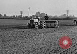 Image of Ford tractor drawn plow United States USA, 1919, second 3 stock footage video 65675048697