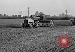 Image of Ford tractor drawn plow United States USA, 1919, second 4 stock footage video 65675048697