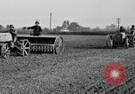 Image of Ford tractor drawn plow United States USA, 1919, second 8 stock footage video 65675048697