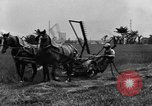 Image of horse drawn reaper United States USA, 1919, second 9 stock footage video 65675048699