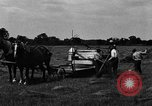 Image of horse drawn binder United States USA, 1919, second 12 stock footage video 65675048700