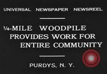 Image of manufacturing paper Purdys New York USA, 1931, second 1 stock footage video 65675048704