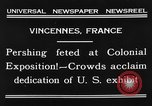 Image of King Emmanuel Vincennes France, 1931, second 2 stock footage video 65675048706