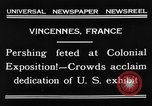 Image of King Emmanuel Vincennes France, 1931, second 6 stock footage video 65675048706