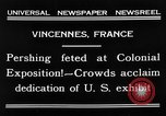 Image of King Emmanuel Vincennes France, 1931, second 7 stock footage video 65675048706