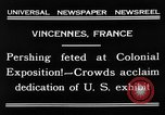 Image of King Emmanuel Vincennes France, 1931, second 9 stock footage video 65675048706