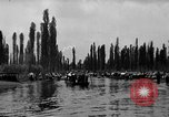 Image of decorated canoes Xochimilco Mexico, 1931, second 11 stock footage video 65675048709
