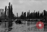 Image of decorated canoes Xochimilco Mexico, 1931, second 12 stock footage video 65675048709