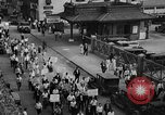 Image of silk mill strikers Paterson New Jersey USA, 1931, second 2 stock footage video 65675048710