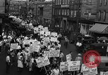 Image of silk mill strikers Paterson New Jersey USA, 1931, second 10 stock footage video 65675048710