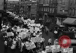 Image of silk mill strikers Paterson New Jersey USA, 1931, second 11 stock footage video 65675048710
