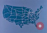 Image of map of United States United States USA, 1975, second 10 stock footage video 65675048712
