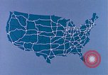 Image of map of United States United States USA, 1975, second 11 stock footage video 65675048712
