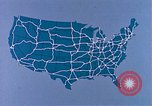 Image of map of United States United States USA, 1975, second 12 stock footage video 65675048712