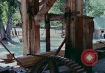 Image of wooden plank United States USA, 1975, second 6 stock footage video 65675048720