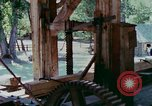 Image of wooden plank United States USA, 1975, second 8 stock footage video 65675048720