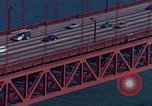 Image of Golden Gate Bridge San Francisco California USA, 1975, second 9 stock footage video 65675048724