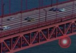 Image of Golden Gate Bridge San Francisco California USA, 1975, second 10 stock footage video 65675048724