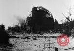 Image of destroyed buildings Belgium, 1918, second 12 stock footage video 65675048731