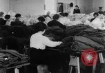 Image of US Army uniform production World War 1 United States USA, 1917, second 4 stock footage video 65675048739