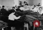 Image of US Army uniform production World War 1 United States USA, 1917, second 6 stock footage video 65675048739