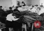 Image of US Army uniform production World War 1 United States USA, 1917, second 7 stock footage video 65675048739