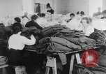 Image of US Army uniform production World War 1 United States USA, 1917, second 8 stock footage video 65675048739