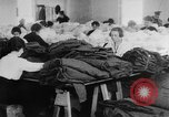 Image of US Army uniform production World War 1 United States USA, 1917, second 10 stock footage video 65675048739