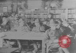 Image of American Army soldiers in YMCA club during World War I European Theater, 1917, second 1 stock footage video 65675048746