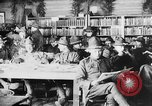 Image of American Army soldiers in YMCA club during World War I European Theater, 1917, second 4 stock footage video 65675048746
