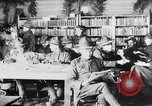 Image of American Army soldiers in YMCA club during World War I European Theater, 1917, second 6 stock footage video 65675048746