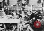 Image of American Army soldiers in YMCA club during World War I European Theater, 1917, second 7 stock footage video 65675048746