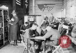 Image of American Army soldiers in YMCA club during World War I European Theater, 1917, second 9 stock footage video 65675048746