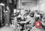 Image of American Army soldiers in YMCA club during World War I European Theater, 1917, second 10 stock footage video 65675048746