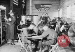 Image of American Army soldiers in YMCA club during World War I European Theater, 1917, second 11 stock footage video 65675048746