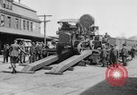 "Image of Military equipment being unloaded from ""Liberty Loan Train."" Richmond Virginia USA, 1918, second 7 stock footage video 65675048756"