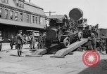 "Image of Military equipment being unloaded from ""Liberty Loan Train."" Richmond Virginia USA, 1918, second 10 stock footage video 65675048756"