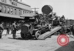 "Image of Military equipment being unloaded from ""Liberty Loan Train."" Richmond Virginia USA, 1918, second 12 stock footage video 65675048756"