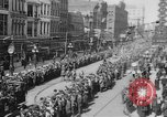 Image of Liberty Loan Parade in center of city Richmond Virginia USA, 1918, second 2 stock footage video 65675048759