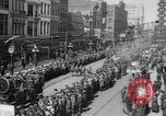 Image of Liberty Loan Parade in center of city Richmond Virginia USA, 1918, second 4 stock footage video 65675048759