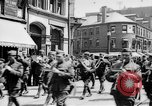 Image of Liberty Bond Drive parade on city street Philadelphia Pennsylvania USA, 1918, second 3 stock footage video 65675048765