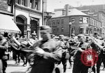 Image of Liberty Bond Drive parade on city street Philadelphia Pennsylvania USA, 1918, second 4 stock footage video 65675048765