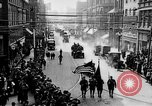 Image of Liberty Bond Drive parade on city street Philadelphia Pennsylvania USA, 1918, second 9 stock footage video 65675048765