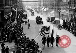 Image of Liberty Bond Drive parade on city street Philadelphia Pennsylvania USA, 1918, second 10 stock footage video 65675048765
